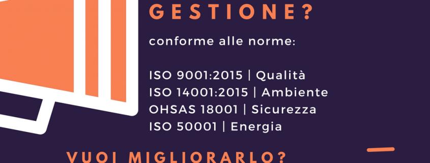 Sistema di gestione integrato iso 9001 iso 14001 ohsas 18001 e iso 50001